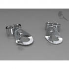 4 space Ag earring rivets 925/1000