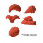 XXL set - set of climbing holds
