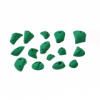 Nazca boulder - set of climbing holds