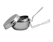 ALB stainless steel pan - 3pc