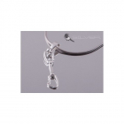 4 space Ag Pendant express 925/1000