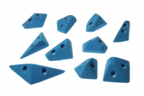 Geometric Footholds - set of climbing holds