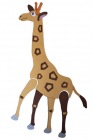 Plywood Animals - Giraffe