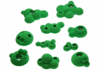 Molecules Footholds - set of climbing holds