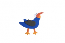 Plywood Animals - Bird