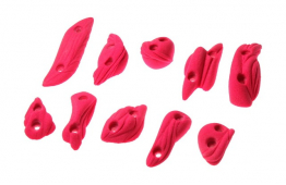 Muscles Footholds - set of climbing holds